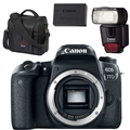 Canon EOS 77D DSLR Camera (Body Only)<br> w/ Gadget Bag,LP-E17 Battery & 430EX III Speedlite