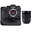 Fujifilm X-H1 Mirrorless Digital Camera Body w/ Battery Grip Kit <br>& Fujinon XF 16-55mm F2.8 R LM WR Lens (BUNDLE!)