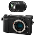 Panasonic Lumix DMC-GX85 Body (Black) <br> w/ Vario 35-100mm F2.8 ASPH Power OIS Lens