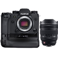 Fujifilm X-H1 Mirrorless Digital Camera Body w/ Battery Grip Kit <br>& Fujinon XF 8-16mm F2.8 R LM WR Lens (BUNDLE!)