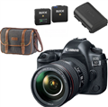 Canon EOS 5D Mark IV DSLR Camera w/ 24-105mm F4L II Lens <br> w/ + Extra battery + Canon Gadget Bag + Rode Wireless GO!