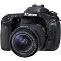 Canon EOS 80D DSLR Camera w/ 18-55mm STM Lens