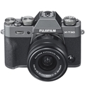 FUJIFILM X-T30 Mirrorless Digital Camera w/ 15-45mm Lens (Charcoal Silver) + (**BONUS**)