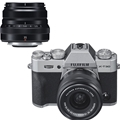 FUJIFILM X-T30 Mirrorless Digital Camera w/ 15-45mm Lens (Black)