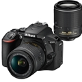 Nikon D5600 DSLR Camera w/ 18-55mm + AF-S 55-200mm VR II Bundle