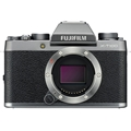 Fujifilm X-T100 Mirrorless Digital Camera (Body Only, Dark Silver)