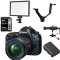 Canon EOS 5D Mark IV DSLR Camera w/ EF 24-105mm F4L Lens ** Bundle! **