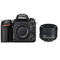 Nikon D750 (body) w/ Nikkor 50mm F1.8 Lens Bundle
