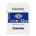 Toshiba FlashAir Wireless LAN  - 32GB SDHC Class 10 - W-04