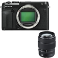 Fujifilm GFX 50R Medium Format Mirrorless Camera<br> w/ 32-64mm Lens Kit