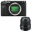 Fujifilm GFX 50R Medium Format Mirrorless Camera <br> w/ 45mm Lens Kit