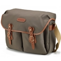 Billingham Hadley Large<br> (Sage Fibrenyte, Tan Leather, Brass fittings)