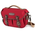 Billingham Hadley Small Pro <br>Burgundy Canvas & Chocolate Leather