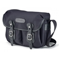 Billingham Hadley Small<br>(Black fibrenyte, Black leather, Nickel fittings)