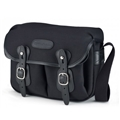 Billingham Hadley Small<br> (Black canvas, Black leather, Nickel fittings)