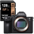 Sony Alpha a7 III Mirrorless Digital Camera (Body) <br>w/ Lexar 128GB 633X Professional SDXC Card!