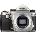Pentax KP DSLR Camera (Silver Body)