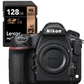 Nikon D850 DSLR Camera (Body) - (Damaged Box - New Unit) - with Bonus Lexar 633X 128SDHC memory card