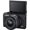 Canon EOS M200 Mirroress Camera w/ 15-45mm Lens (Black)