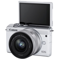 Canon EOS M200 Mirroress Camera w/ 15-45mm Lens (White)