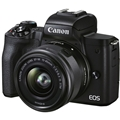 Canon EOS M50 Mark II Mirrorless Digital Camera w/ 15-45mm Lens (Black)