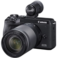 Canon EOS M6 Mark II Mirrorless Digital Camera w/ 18-150mm Lens & EVF-DC2 Viewfinder (Black)