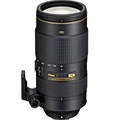 Nikkor AF-S 80-400mm f4.5-5.6G ED VR Lens with Bonus