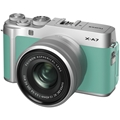FUJIFILM X-A7 Mirrorless Digital Camera w/ 15-45mm Lens (Mint Green)