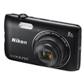 Nikon COOLPIX A300 Digital Camera (Black) (Refurbished)