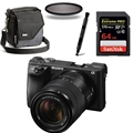 Sony Alpha a6500 Mirrorless Digital Camera w/ 18-135mm Lens  ** Bundle **
