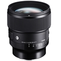 Sigma 85mm F1.4 DG DN Art Lens (Sony FE mount)