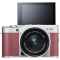 Fujifilm X-A5 Mirrorless Digital Camera w/ 15-45mm Lens (Pink)