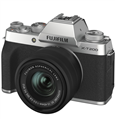 FUJIFILM X-T200 Mirrorless Camera w/ 15-45mm Lens (Silver)