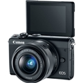 Canon EOS M100 w/ 15-45mm Lens (Black)