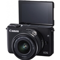 Canon EOS M10 w/ 15-45mm Lens (Black)