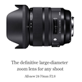 Sigma 24-70mm F2.8 DG OS HSM Art Lens (Sony A mount)