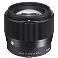 Sigma 56mm F1.4 DC DN Contemporary Lens (Sony E mount)
