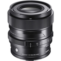 Sigma 65mm F2 DG DN Contemporary Lens (Sony FE mount)