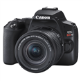 Canon EOS Rebel SL3 DSLR Camera w/ 18-55mm Lens (Black)