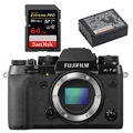 Fujifilm X-T2 Mirrorless Digital Camera (Body) - Bundle