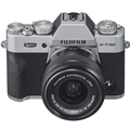 FUJIFILM X-T30 Mirrorless Digital Camera w/ 15-45mm Lens (Silver) + (**BONUS**)