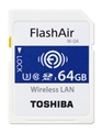 Toshiba FlashAir Wireless LAN  - 64GB SDXC UHS-I