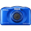 Nikon COOLPIX W100 Digital Camera - Blue (Refurbished)