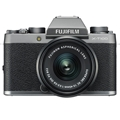 Fujifilm X-T100 Mirrorless Digital Camera w/ 15-45mm Lens (Dark Silver)