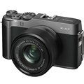 FUJIFILM X-A7 Mirrorless Digital Camera w/ 15-45mm Lens (Dark Silver) + BONUS
