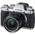 Fujifilm X-T3 Mirrorless Digital Camera w/ 18-55mm Lens (Silver) with Bonus Items + BATTERY GRIP (MAIL-IN OFFER)