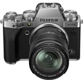 Fujifilm X-T4 Mirrorless Camera w/ 18-55mm Lens (Silver) + BONUS
