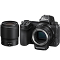 Nikon Z6 Mirrorless Digital Camera<br> w/ Nikkor Z 50mm F1.8 S lens & FTZ Mount Adapter Kit