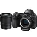 Nikon Z6 Mirrorless Digital Camera<br> w/ Nikkor Z 24-70mm F4 S lens & FTZ Mount Adapter Kit