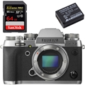 Fujifilm X-T2 Digital Camera Graphite Silver (Body) - Bundle
